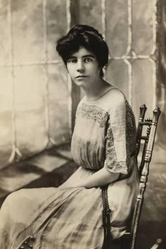 Photo: Alice Paul, American Suffragette and Author of an Equal Rights Amendment, 1910s : 24x16in