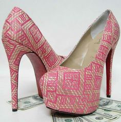 Fashionate Trends: High Heels Platform Pink