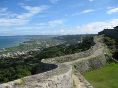 中城城跡から見える絶景。