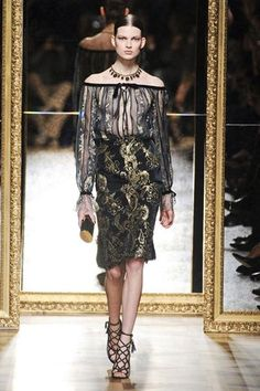 Very Versailles Salvatore Ferragamo - Best Fashion Trends for Fall 2012 - Harper's BAZAAR