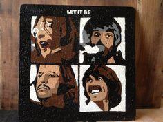 Beatles Eggshell Mosaic