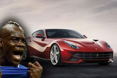 Football Stars and Their Cars:  Balotelli - http://www.prestigeandsportsauto.com/football-stars-cars-balotelli/