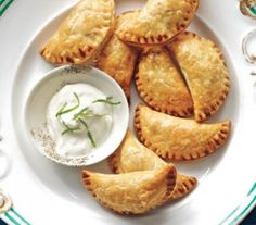 Spiced Beef Empanadas With Lime Sour Cream
