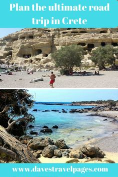 Plan the ultimate road trip in Crete, Greece