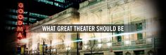 Official Site of the Tony Award® winning Goodman Theatre Goodman Theatre, Chicago Live, Theater Chicago, Christmas Graphic Design, Lyric Opera, Theater Tickets, In His Time, My Town, International Artist