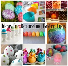 Fun Ideas for Decorating Easter Eggs