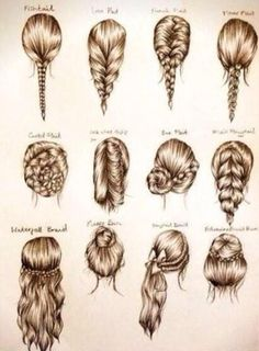 Many different cute styles Easy Hairstyles For Medium Hair, Cute Hairstyles, Bouffant Hairstyles, Brunette Hairstyles, Fashion Hairstyles, Easy Hairstyles For School, Up Dos For Medium Hair, Party Hairstyles, Wedding Hairstyles