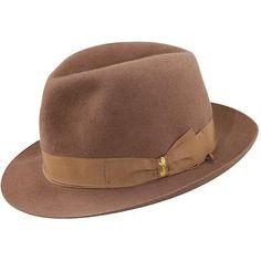 62d943f5c018b A fur felt fedora from Borsalino - The Limited Edition Cervelt Different Hat  Styles