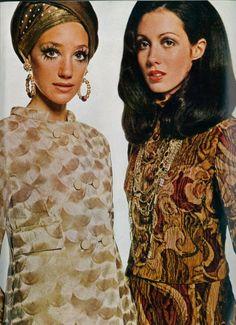 Marisa Berenson - 1968 UK Vogue