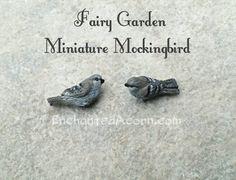 Miniature Mockingbird by Enchanted Acorn