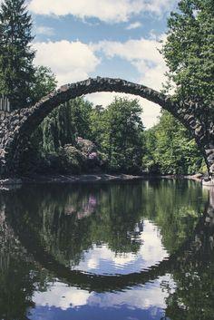 Kromlau Rakotzbrücke by Christoph Perret