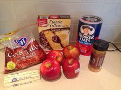 Wishes do come true...: Apple Crisp with yellow cake mix #aldirecipes #aldi