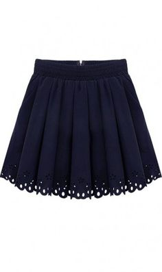 Pleated waisted skirt 571