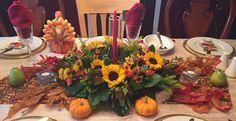 Thanksgiving Centerpiece 2015