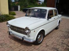 1967 Fiat, 1100R  5495.00 GBP  A lovely example of the 1960's peoples car of Italy in White,that has been refreshed on the coachwork some time ago,but retains its original red interior which we have just purchased in Italyand due to be in UK in October.It has only had one elderly owner till 2010 and thenthe current collector owner that we purchased it from.Pictures are as the car was collected in Ital ..  http://www.collectioncar.com/detailed.php?ad=30890&category_id=1