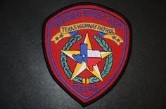 Texas Department of Public Safety - Highway Patrol Patch (Current Issue) - States Display Police Family, Military Police, State Police, Police Badges, Police Cars, Texas State Trooper, Texas Law, Fire Badge, Leo Wife