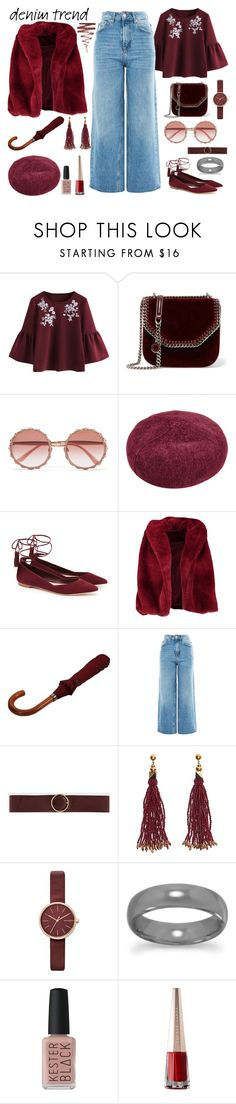 """""""Senza titolo #6993"""" by waikiki24 ❤ liked on Polyvore featuring STELLA McCARTNEY, Dolce&Gabbana, Loeffler Randall, Boohoo, London Undercover, Topshop, CHARLES & KEITH, Nocturne, Skagen and Kester Black"""