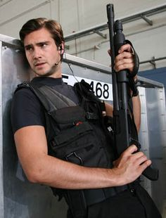 Captain Becker (Primeval) Man with guns who fights Dinosaurs, yes please!!