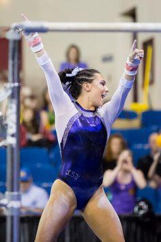 Ashleigh Gnat- LSU gymnast | Gymnastics :D | Pinterest ...