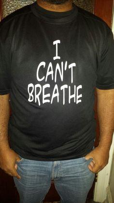 I can't breathe #blacklivesmatter