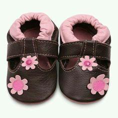 Brown 11cm Alamana Fashion Newborn Toddler Baby Kids Girls Boys Anti-Slip Soft Sole Flats Shoes