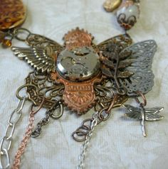 Recycle Reuse Renew Mother Earth Projects: How to make Steampunk Jewelry