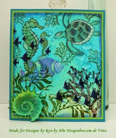 Designs by Ryn stamps and stencils - Sea Life