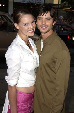 Pin for Later: Y'aurait-Il Une Malédiction Chez Les Co-Stars? 30 Couples Qui N'ont Pas Tenu La Route Katherine Heigl et Jason Behr