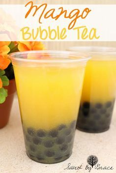 mango bubble tea recipe- make your favorite right at home!