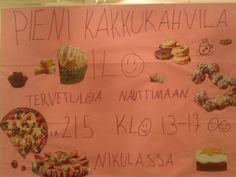Kakkukahvila tapahtuma 21.5. klo 13-17 Nikulan puolella