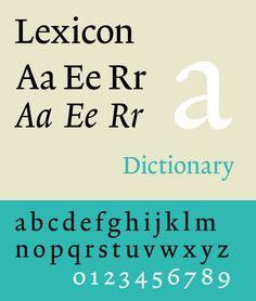 TEFF Lexicon // The Enschedé Font Foundary // Bram de Does