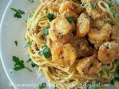 Fiery Hot Shrimp Alfredo   Cinnamon Spice & Everything Nice