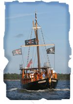 pirates of lewes expeditions pirate ship charter and - 150×213