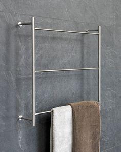 NEU: Handtuchleiter für die Wandmontage aus Edelstahl
