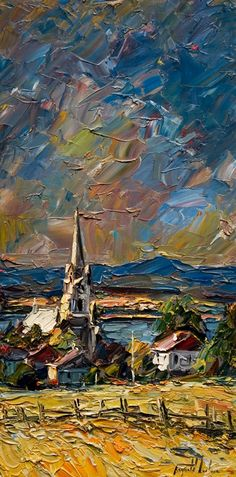 Saint Vallier, by Raynald Leclerc