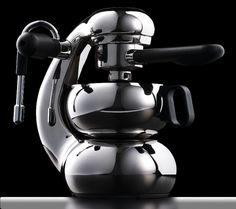 """""""OTTO is a Stove Top Espresso Maker, combining Giordano Robbiati' classic Italian style of the Atomic with unprecedented functionality. Meticulously engineered and crafted, """"the little guy"""" offers inspirational ergonomics and delivers superb coffee.     OTTO is made almost completely of stainless steel promising you a lifetime of satisfaction from this modern international design classic."""" #otto"""