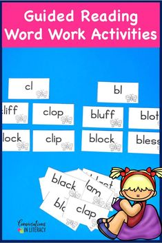 Blends and Digraphs Word Sorting Cards-Phonics decoding activities and ideas for guided reading and reading interventions that build fluency! Increase learning during small groups with fun practice for kids. Teachers use these phonics activities to build up from word level to fluency with reading passages.  Great for struggling readers too! #kindergarten #firstgrade #secondgrade #thirdgrade #conversationsinliteracy #phonics #fluency #comprehension #classroom #elementary #decoding #readinginterve