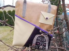 """Tasche """"Lucy"""" genäht von Schneppis Hobby und Ideen Eck Blog, Cool Bag, Bags Sewing, Sewing Patterns Bags"""