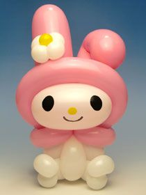 マイメロ バルーンアートのやさしい作り方サイト!キュッとバルーン Balloons And More, Mini Balloons, Birthday Balloons, Balloon Arch Diy, Balloon Decorations, Balloon Ideas, Balloon Face, Balloon Cartoon, Globe Art