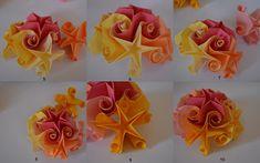 Clara's Paper Garden: Tutorial curler stelute