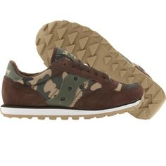 Saucony Women Jazz Low Pro Camo (dark brown) 60111-3 - $55.00