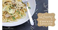 Lemon Chicken Linguine