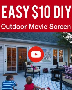 Precious Tips for Outdoor Gardens In general, almost half of the houses in the world… Backyard Movie Screen, Backyard Movie Party, Backyard Movie Theaters, Outdoor Movie Screen, Backyard Movie Nights, Outdoor Movie Nights, Outdoor Cinema, Best Outdoor Movie Projector, Outdoor Movie Party
