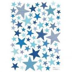 Stickers Enfant Etoiles Electrik blue - Lilipinso - 20€