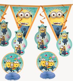 Despicable Me 2 - Decorating Kit from BirthdayExpress.com