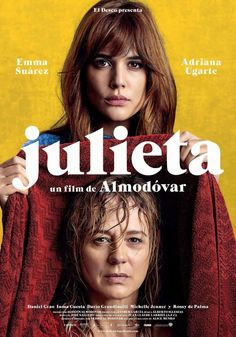 Directed by Pedro Almodóvar. With Adriana Ugarte, Rossy de Palma, Michelle Jenner, Emma Suárez. After a casual encounter, a brokenhearted woman decides to confront her life and the most important events about her stranded daughter. Films Hd, Films Cinema, Cinema Posters, Hd Movies, Movies To Watch, Movies Online, Movie Posters, 2016 Movies, Movies Free