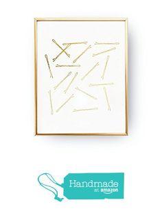 Bobby Pins, Gold Foil Print, Bobby Pin Print, Bathroom Art, Fashion Poster, Hair Decor, Makeup Print, Bedroom Decor, Bathroom Decor, 8x10 from Lovely Decor https://smile.amazon.com/dp/B01FR09CS8/ref=hnd_sw_r_pi_dp_ZHCczb1WZQ27Z #handmadeatamazon