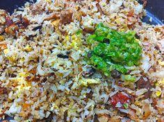 Recette de la Réunion : riz chauffé au poulet