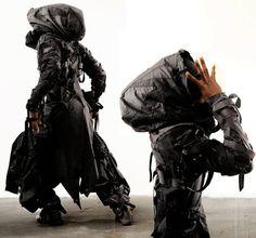 Post apocalyptic steampunk fashion.