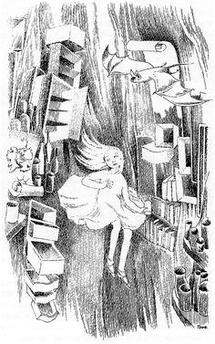 Image result for Tove Jansson skisser